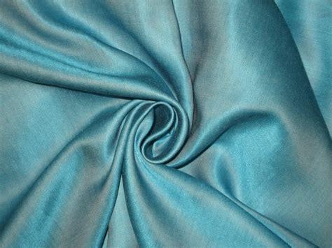 viscose satin fabric sky blue 44 quot