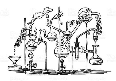 Franking Credit Formula Ato dessin de laboratoire chimie exp 233 rience stock vecteur