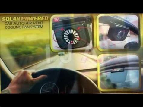 car fans for dogs solar power fan car window auto cool ijacc com