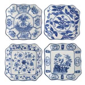 Plates white china blue white wall plates decor plates blue and