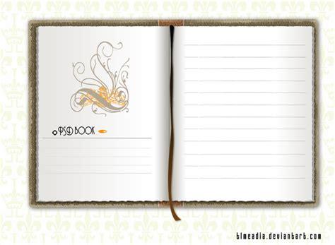 notebook template psd notebook psd
