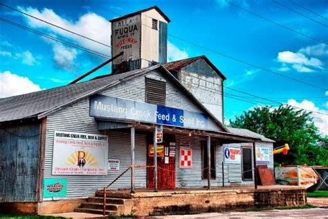 old feed store in rio vista tx love the country