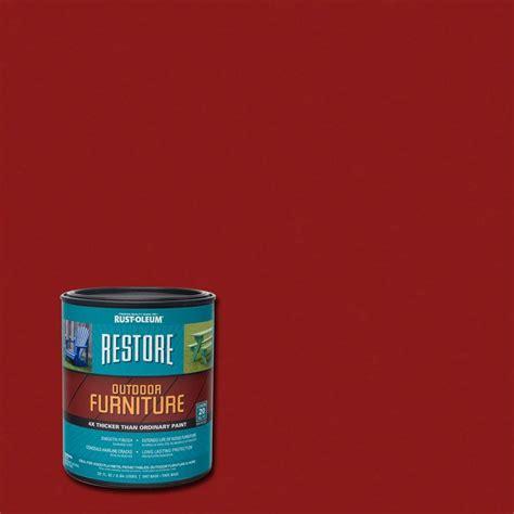 home depot restore paint colors rust oleum restore 1 qt colonial outdoor furniture
