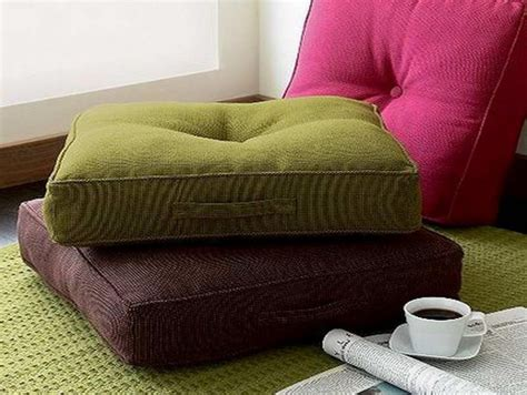 sofa pillow cushions floor pillow sofa get comfy with floor cushions and