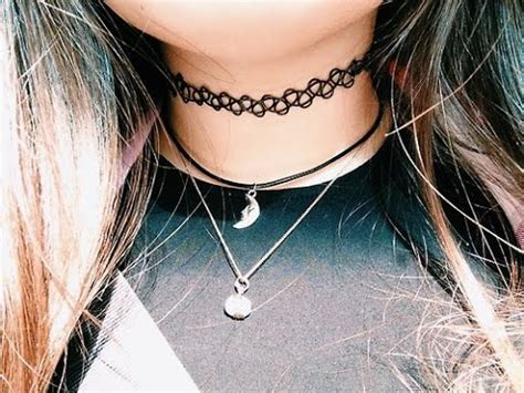 how to make a tattoo choker diy choker necklaces choker