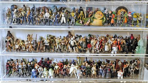 figure collection how to instantly own the world s coolest wars