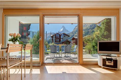gro e fensterfront zermatt apartment alpine zermatt vacation apartments