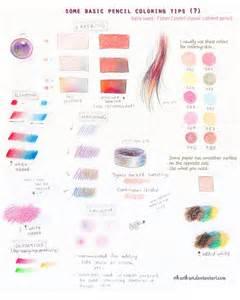 tutorial pencil color basic by rikurikuri on deviantart