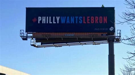 Billboard Sweepstakes - philly tries to win lebron james sweepstakes with