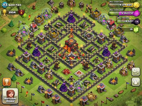 layout of coc town hall 8 top 10 clash of clans town hall level 8 defense base