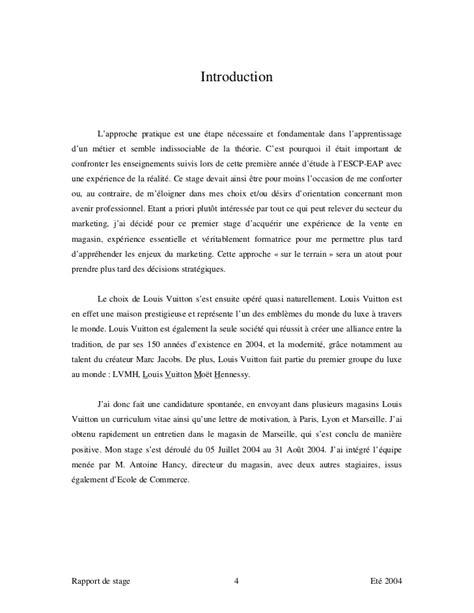 Lettre De Motivation Vendeuse Sephora Rapport De Stage Louis Vuitton