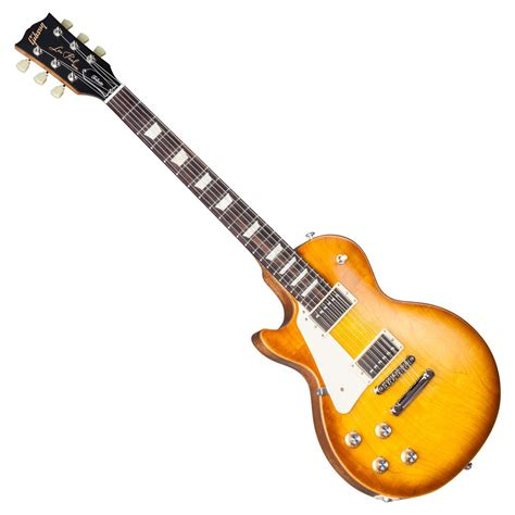 Gitar Gibson Les Paul 145 gibson les paul tribute t left handed guitar honey burst 2017 at gear4music