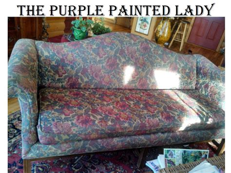 paint on leather couch chalk paint on leather the purple painted lady