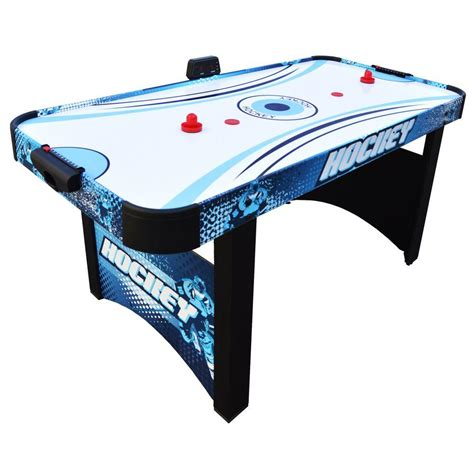 hathaway air hockey table hathaway enforcer 5 5 ft air hockey table bg1018h the