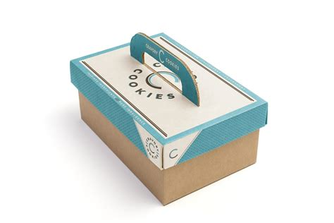 creative box cravory cookies concept on packaging of the world
