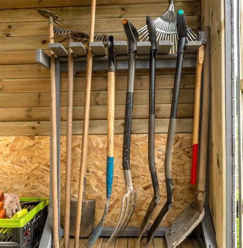 organize  storage shed quick  easy storage