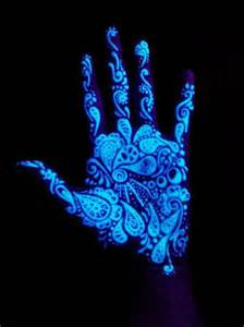 glow in the light uv tattoos that make you glow in the inkspired