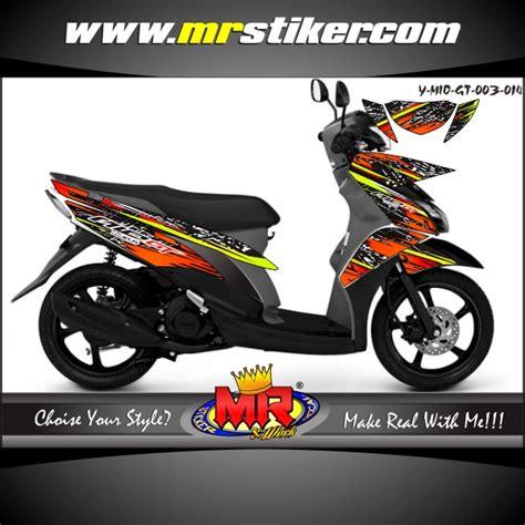 Keranjang Motor Mio mio gt metal stiker motor striping motor suka