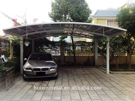 new style prefabricated aluminium awning for cars hx114