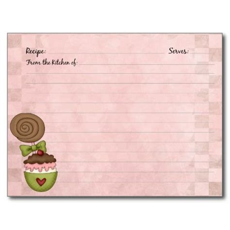 printable dessert recipe cards 426 best recipe cards templates images on pinterest