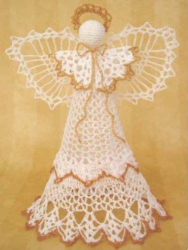 crochet pattern christmas tree topper angel victoria tree topper crochet pattern pinterest