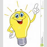 Cartoon Light Bulb Royalty Free Stock Photos - Image: 17648518