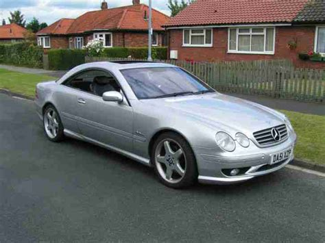 how does cars work 2001 mercedes benz cl class electronic toll collection 2001 mercedes cl500 cl 55 amg replica no reserve car for sale