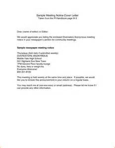 notice of meeting template meeting notice template 2 best agenda templates