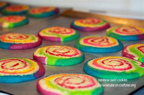 colorful cookies i sew and draw pretty nifty also rainbow swirl
