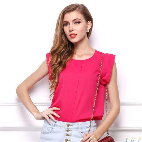 Blouse Gradasi Blouse Wanita Pakaian Wanita blouse wanita chiffon size m jakartanotebook