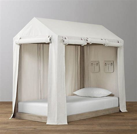 bed tents for adults white roll up sides canvas tent bed