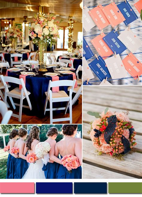 royal blue and pink wedding colors tulle chantilly