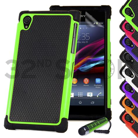 Casing Belakang Back Cover Sony Xperia Z1 Compact Mini Hijau shock proof cover for sony xperia z1 z ultra z