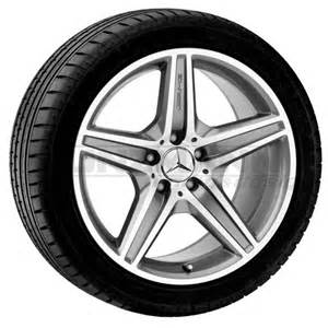 amg 18 inch alloy wheels complete wheels mercedes