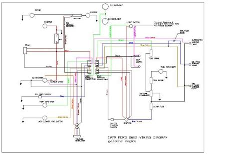 series wiring diagram for ford 5000 tractor get free