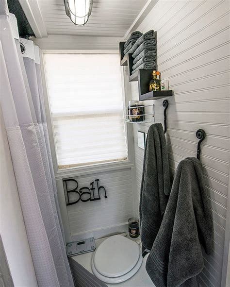 Tiny Home Bathroom Ideas | western warmth tiny house bathroom ideas