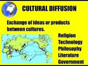 Cultural Diffusion Essay by Stephen K Sanderson On Evolutionary Materialism