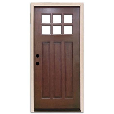 32 Exterior Doors 32 X 80 Doors With Glass Wood Doors Front Doors Exterior Doors The Home Depot