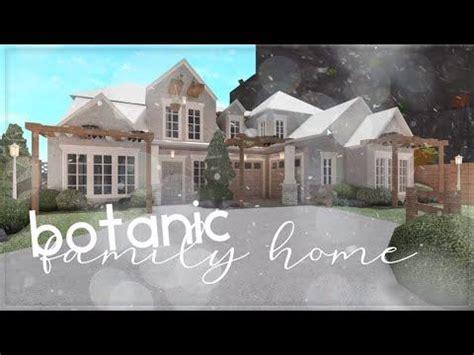 roblox bloxburg botanic family home house build
