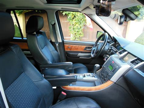 2007 land rover range rover sport interior pictures