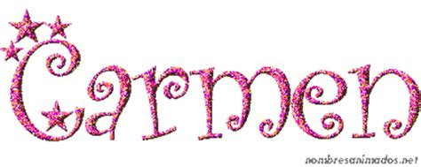 imagenes de el nombre carmen gifs animados del nombre carmen 0553