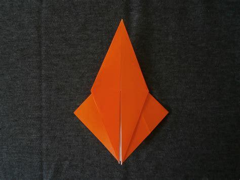 Origami Petal - katakoto origami step7 quot squash fold quot and quot petal fold quot