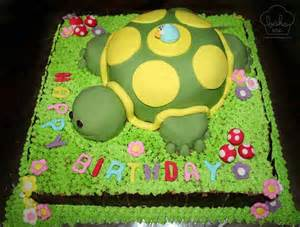turtle cake chocolate cake covered with fondant decoration flickr