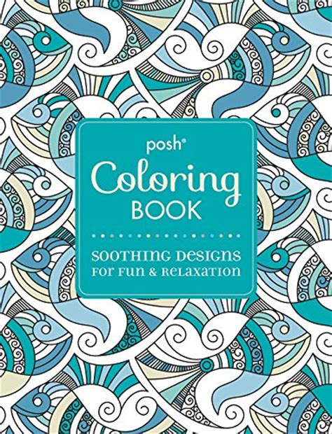 coloring books for adults in dubai posh coloring book soothing designs for