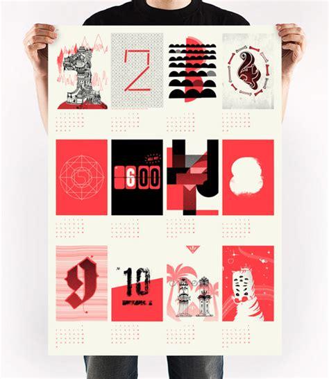 Poster Calendar Upstruct 2013 Poster Calendar Design Work