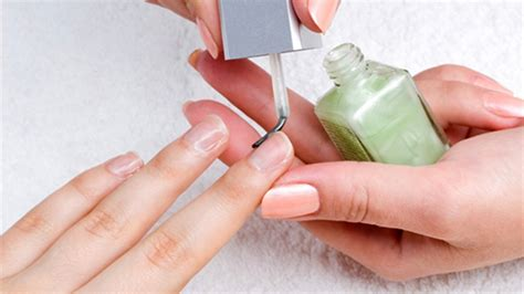 A Nail by 10 Awful Nail Habits Destroying Your Nails And How To