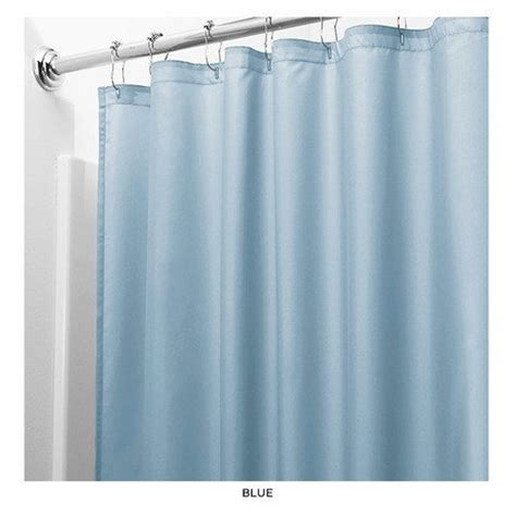 United Linens Shower Curtain Liner Blue72x72 Peva Mildew