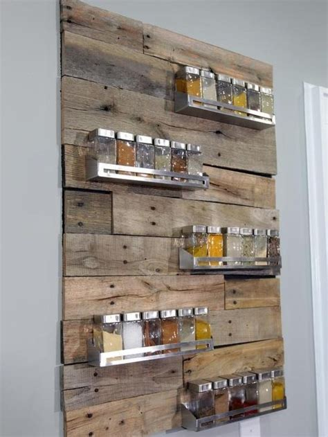 Cool Spice Racks by Cool Spice Rack And Deco Pallet Craft