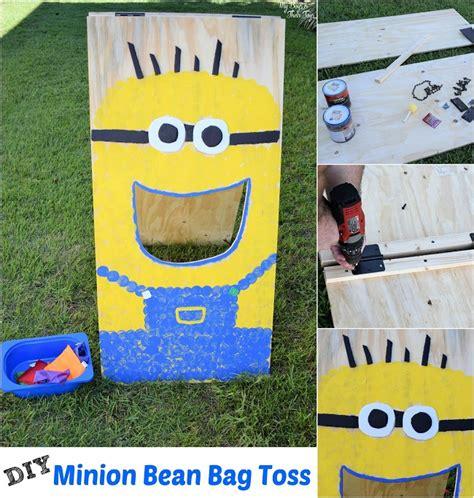 make your own bean bag toss diy bean bag toss other minion ideas