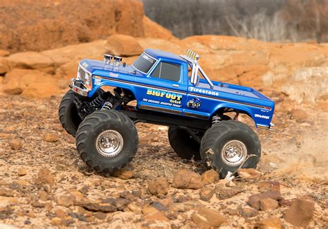 bigfoot truck stede bigfoot 1 the original truck blue r c